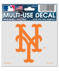 """New York Mets 3""""x4"""" Multi-Use Color Decal"""