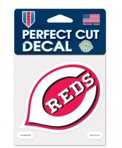 "Cincinnati Reds 4""x4"" Perfect Cut Color Decal"
