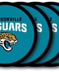 Jacksonville Jaguars Coaster Set - 4 Pack