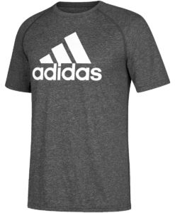 Men's Adidas Ultimate Heather Gray T-Shirt Tee