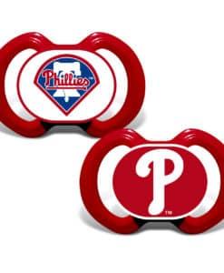 Philadelphia Phillies Red Pacifier - 2 Pack