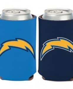 Los Angeles Chargers 12 oz Blue Can Koozie Holder