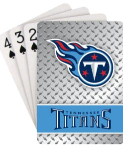 Tennessee Titans Playing Cards - Diamond Plate