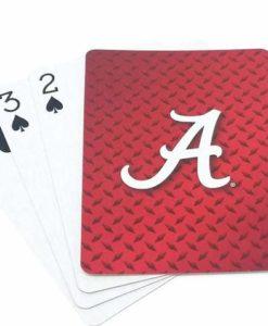 Alabama Crimson Tide Playing Cards - Diamond Plate
