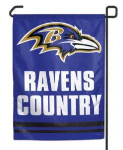"""Baltimore Ravens Country 11""""x15"""" Garden Flag"""
