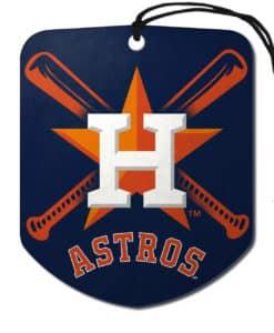 Houston Astros Air Freshener Shield Design 2 Pack