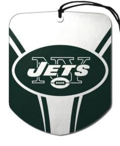 New York Jets Air Freshener 2 Pack Shield Design