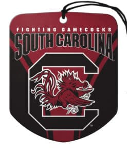 South Carolina Gamecocks Air Freshener Shield Design 2 Pack