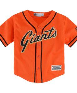 San Francisco Giants Baby Orange Jersey
