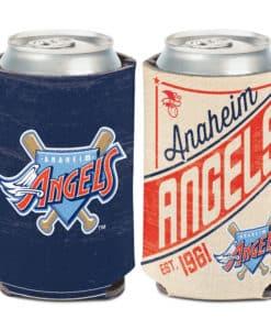 Los Angeles Angels 12 oz Navy Cooperstown Can Koozie Holder