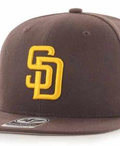 San Diego Padres 47 Brand Brown Sure Shot Snapback Hat